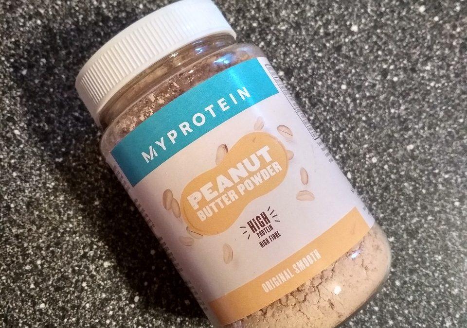 MyProtein Arašidové maslo v prášku – recenzia