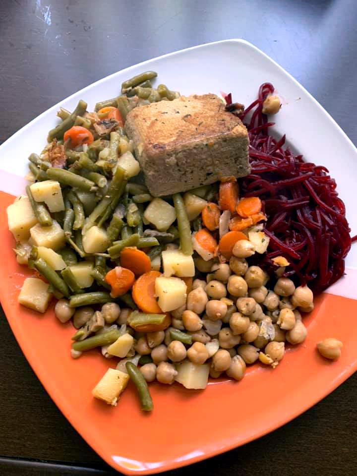 Malé vegánske jedlo